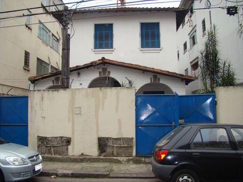 ref.: 210900 - casa em santos, no bairro embare - 3 dormitórios