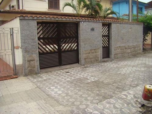 ref.: 211100 - casa em santos, no bairro campo grande - 3 dormitórios