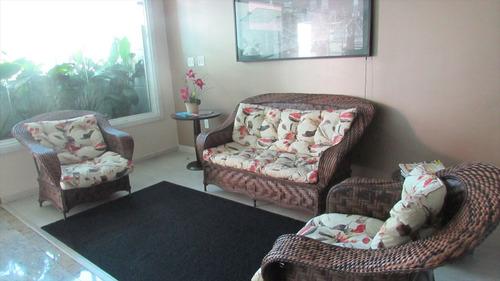 ref.: 212 - apartamento em praia grande, no bairro guilhermina - 2 dormitórios