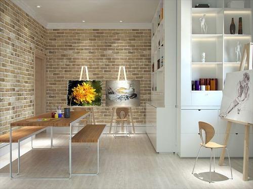 ref.: 2123 - apartamento em praia grande, no bairro canto do forte - 2 dormitórios