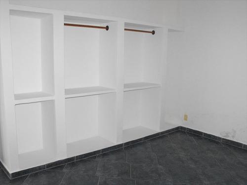 ref.: 2126 - apartamento em praia grande, no bairro forte - 2 dormitórios
