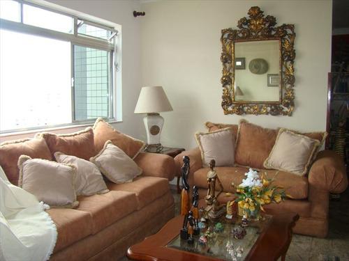 ref.: 213700 - apartamento em santos, no bairro gonzaga - 3 dormitórios