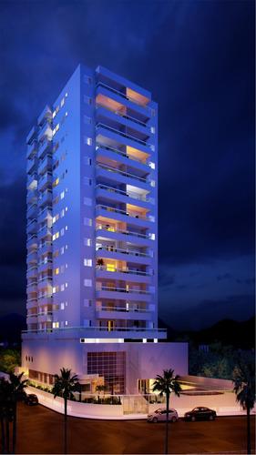 ref.: 2140 - apartamento em praia grande, no bairro florida - 3 dormitórios