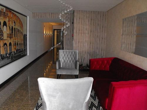 ref.: 2150 - apartamento em praia grande, no bairro guilhermina - 3 dormitórios