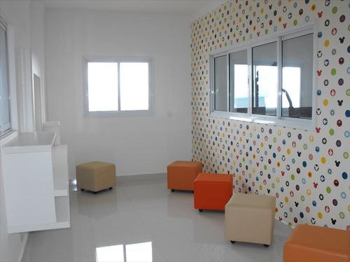 ref.: 2152 - apartamento em praia grande, no bairro guilhermina - 2 dormitórios