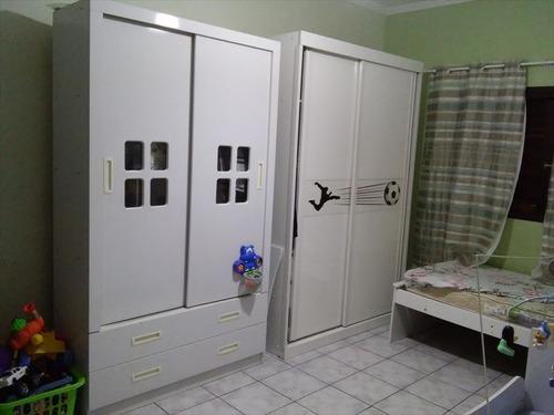 ref.: 215400 - casa em mongagua, no bairro sta eugenia - 2 dormitórios