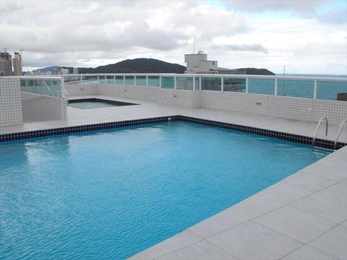 ref.: 2156 - apartamento em praia grande, no bairro guilhermina - 3 dormitórios