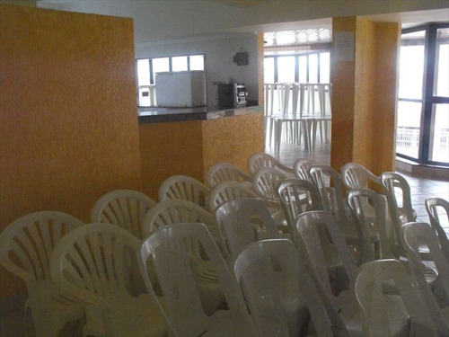 ref.: 2160 - apartamento em praia grande, no bairro guilhermina - 2 dormitórios