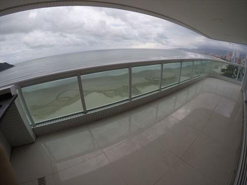 ref.: 2163 - apartamento em praia grande, no bairro canto do forte - 3 dormitórios