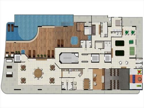 ref.: 2164 - apartamento em praia grande, no bairro canto do forte - 3 dormitórios