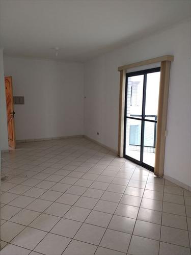 ref.: 2172 - apartamento em praia grande, no bairro guilhermina - 2 dormitórios