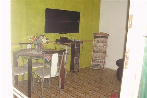 ref.: 2176 - casa condomínio fechado em praia grande, no bairro boqueirao - 1 dormitórios