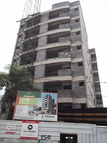 ref.: 217600 - apartamento em mongagua, no bairro vila atlantica - 2 dormitórios