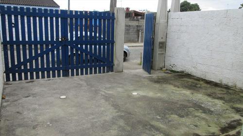 ref.: 218 - casa em itanhaém, no bairro nova itanhaém - 2 dormitórios