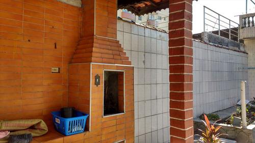 ref.: 218 - casa em praia grande, no bairro boqueirao - 2 dormitórios