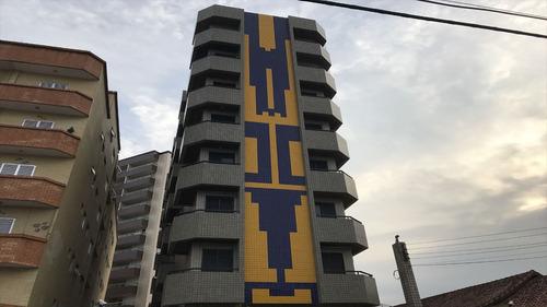 ref.: 2185 - apartamento em praia grande, no bairro vila tupi - 1 dormitórios