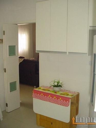 ref.: 2194 - casa em praia grande, no bairro caicara - 3 dormitórios