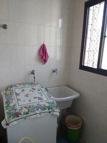 ref.: 2195 - apartamento em praia grande, no bairro boqueirao - 2 dormitórios