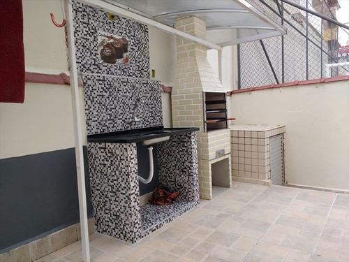 ref.: 2199 - apartamento em praia grande, no bairro guilhermina - 2 dormitórios