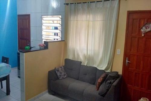 ref.: 2200 - casa em praia grande, no bairro esmeralda - 2 dormitórios