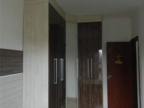 ref.: 220200 - casa em praia grande, no bairro tupi - 2 dormitórios