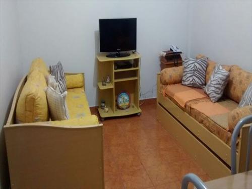 ref.: 2204 - apartamento em praia grande, no bairro boqueirao - 1 dormitórios