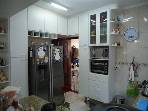 ref.: 220500 - casa em praia grande, no bairro guilhermina - 3 dormitórios