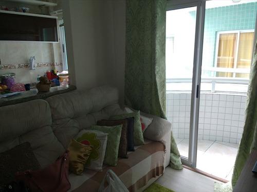 ref.: 2215 - apartamento em praia grande, no bairro boqueirao - 1 dormitórios