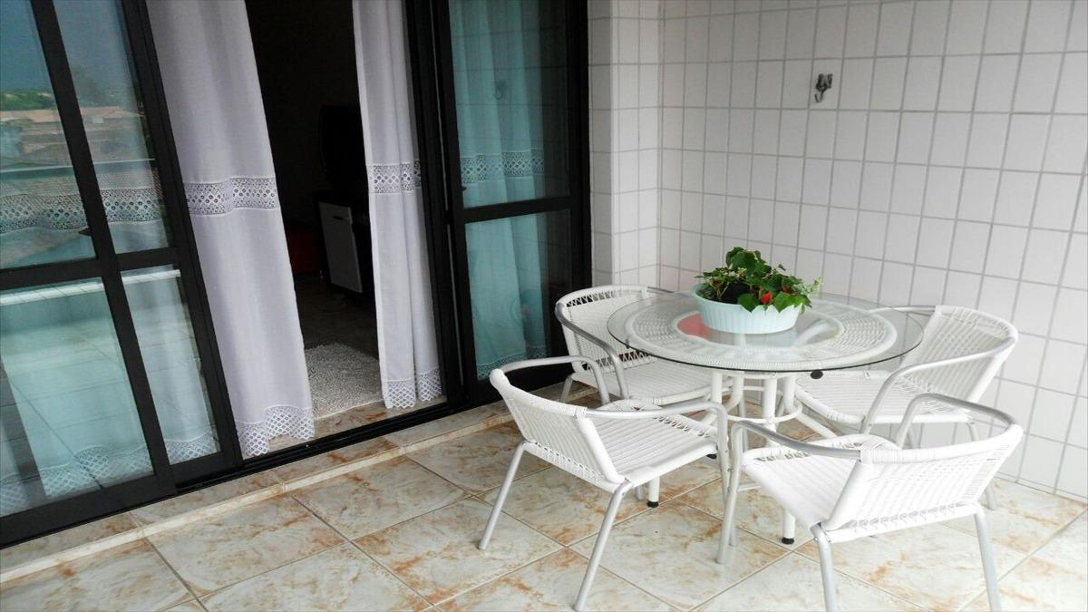 ref.: 222 - apartamento em praia grande, no bairro florida - 2 dormitórios