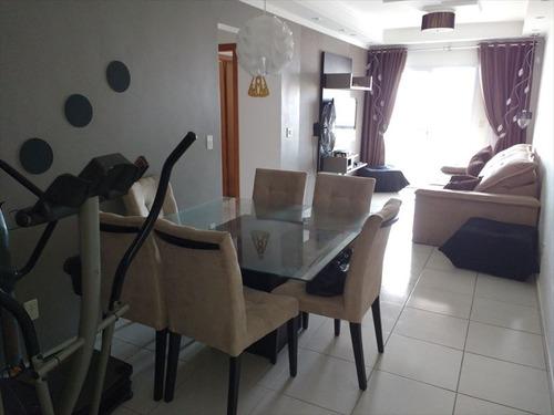 ref.: 2220 - apartamento em praia grande, no bairro guilhermina - 2 dormitórios