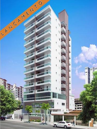 ref.: 2222 - apartamento em praia grande, no bairro canto do forte - 1 dormitórios