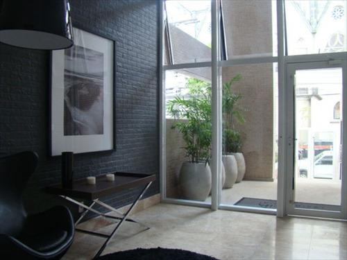 ref.: 223100 - apartamento em santos, no bairro pompeia - 3 dormitórios
