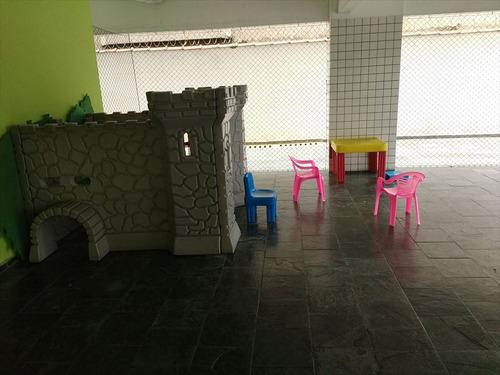 ref.: 2235 - apartamento em praia grande, no bairro boqueirao - 2 dormitórios
