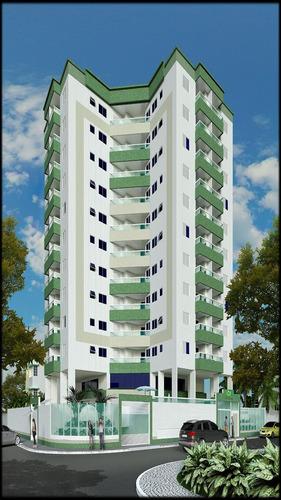 ref.: 2236 - apartamento em praia grande, no bairro vila guilhermina - 1 dormitórios