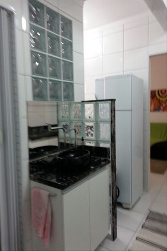 ref.: 2237 - apartamento em praia grande, no bairro boqueirao - 1 dormitórios