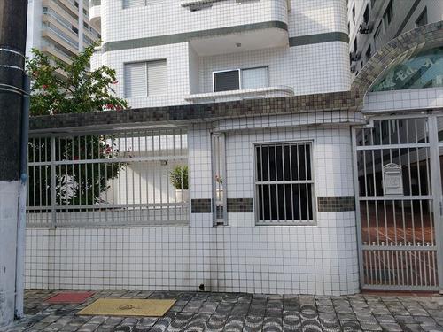 ref.: 2237 - apartamento em praia grande, no bairro guilhermina - 2 dormitórios