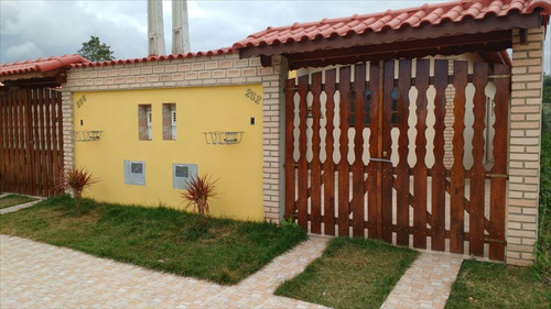 ref.: 22500 - casa em itanhaém, no bairro nova itanhaém - 2 dormitórios
