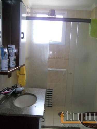 ref.: 2252 - apartamento em praia grande, no bairro guilhermina - 1 dormitórios