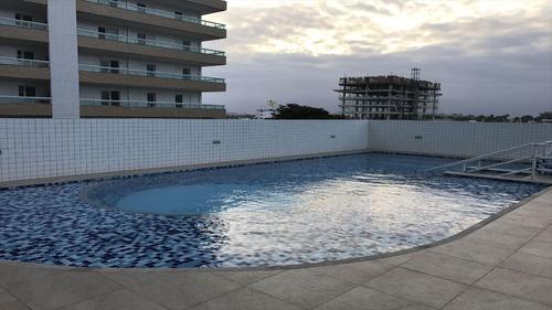 ref.: 2254 - apartamento em praia grande, no bairro vila guilhermina - 2 dormitórios