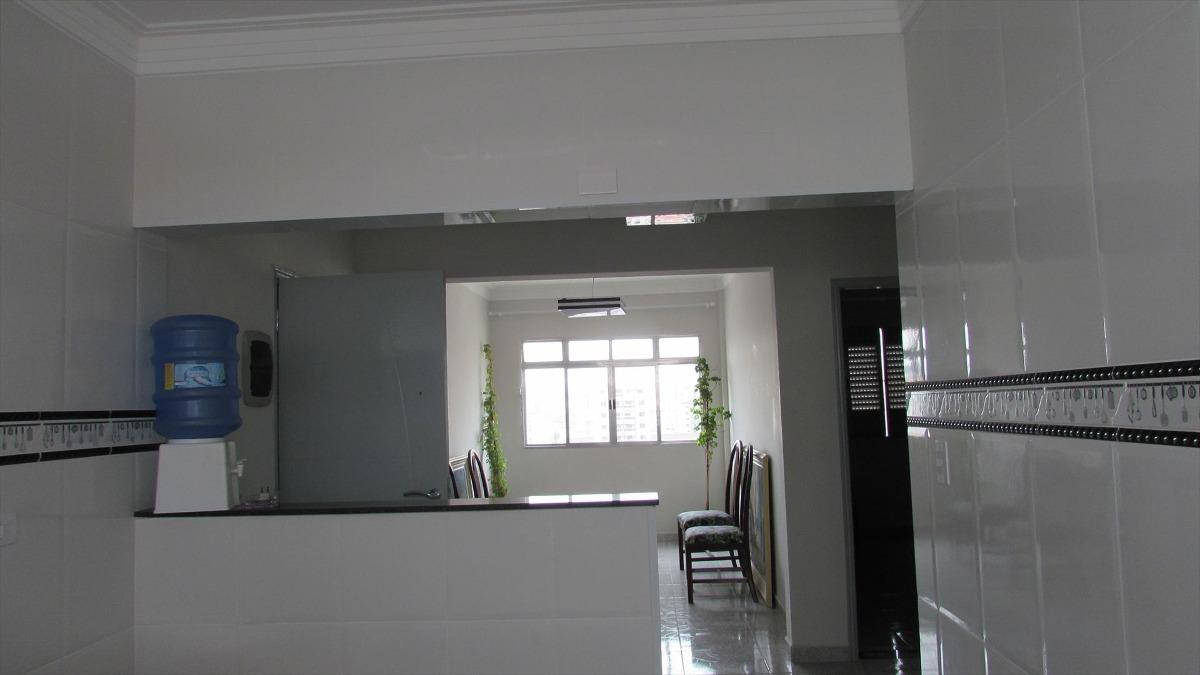 ref.: 227 - apartamento em praia grande, no bairro boqueirao - 2 dormitórios