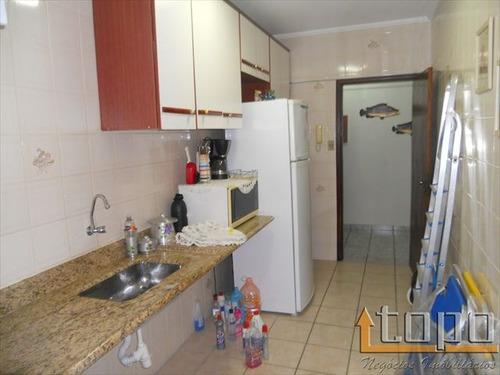 ref.: 2271 - apartamento em praia grande, no bairro guilhermina - 2 dormitórios