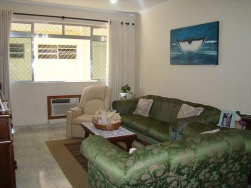 ref.: 227100 - apartamento em santos, no bairro gonzaga - 3 dormitórios