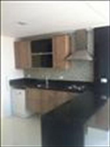 ref.: 228100 - apartamento em santos, no bairro ponta da praia - 2 dormitórios
