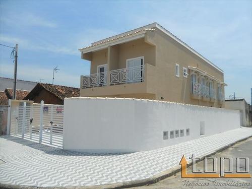 ref.: 2288 - casa em praia grande, no bairro ocian - 2 dormitórios