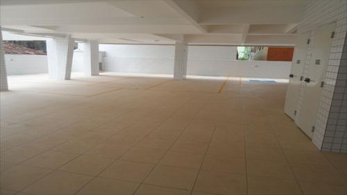 ref.: 2295 - apartamento em praia grande, no bairro vila guilhermina - 2 dormitórios