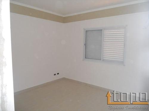ref.: 2295 - casa em praia grande, no bairro guilhermina - 3 dormitórios