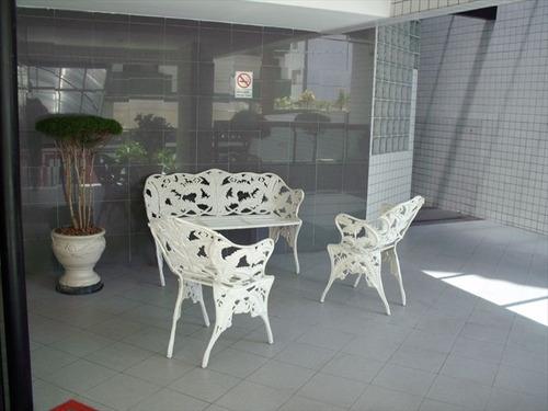 ref.: 2300 - apartamento em praia grande, no bairro guilhermina - 1 dormitórios
