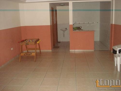 ref.: 2308 - apartamento em praia grande, no bairro boqueirao - 2 dormitórios