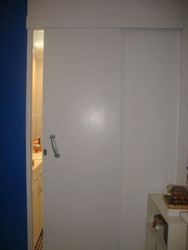 ref.: 231000 - apartamento em santos, no bairro aparecida - 3 dormitórios