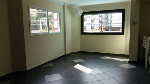 ref.: 2318 - apartamento em praia grande, no bairro vila guilhermina - 2 dormitórios